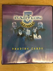 Babylon 5 Profiles Official Skybox Binder