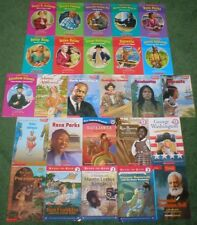 26 Easy Reader and First Biographies Children's Books Leveled Readers 1 & 2