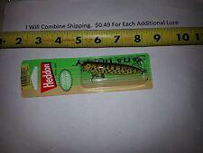 Heddon Zara Puppy Spook Speckled Bass fishing lure 3 inches long 1/4 oz