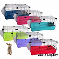 Indoor Rabbit 80cm Cage Bunny Guinea Pig Small Animals Indoor Hutch Many Colours
