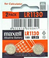 2 Pieces LR1130 Battery (AG10/390) 1.5v Alkailine Button Battery