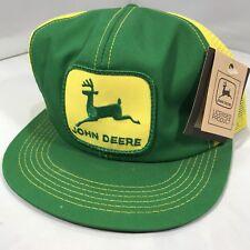 Vintage John Deere Patch Snapback Trucker Hat Cap 70s 80s VTG K PRODUCTS  RARE 17401df9134c