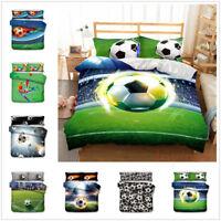 3D Football Duvet Cover Bedding Set Pillowcase Soccer Quilt/Comforter Cover Set