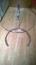 Glass Round 60cm-80cm Height Coffee Tables