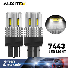 7443 7440 LED Reverse Back Up Light Bulbs Xenon White for Chevy Tahoe 2007-2014