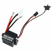 320A 6-12V Brushed ESC Speed Controller W/2A BEC for RC Boat U6L5 G4C9