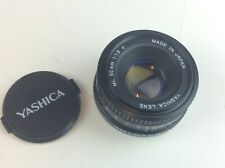 Yashica ML 50mm 1:1.9c Standard Lens Available Worldwide