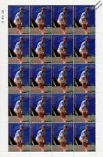 ANDERS JARRYD 20-Stamp Sheet (WIMBLEDON TENNIS Championships Player)