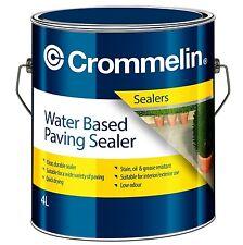 Crommelin WATER BASED PAVING SEALER 4L Quick Drying & UV Resistant *Aust Brand