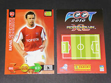 SCHMITZ VALENCIENNES ANZIN USVA FOOTBALL FOOT ADRENALYN CARD PANINI 2009-2010