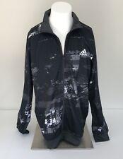 Adidas ESS ELEMENTAL Men's Track Sweat Shirt Jacket Superstar Top Firebird SZ XL