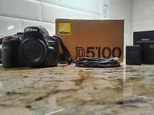 Nikon D5100 16.2MP Digital SLR Camera (Body Only) - Black