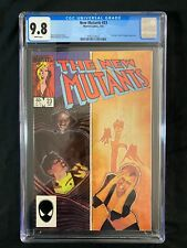 New Mutants #23 CGC 9.8 (1985) - Colossus and Cloak & Dagger appearance