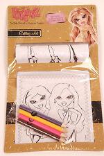 """2 Set 'BRATZ """"Rolling Art Set, Matite Colorate Disegno per Bambini Natale"""