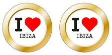Kfz-Aufkleber I love Ibiza Set KA
