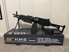 """A&K M249 """"SAW"""" LMG HMG W/Box AEG Airsoft Replica"""