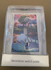 New Kids Sierra Home Collection Unicorn & Mermaid Decorative Switch Plate Indoor