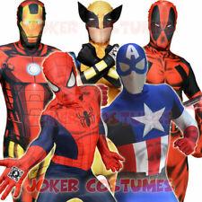 Morphsuit Marvel Superhero Costume Digital Spiderman Deadpool Iron Man C America