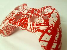 Xbox One Controller Shell Hydro Dipped Housing Mod Button Kit Blood Splatter -UK