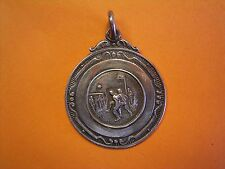 Silver Football Fob Medal - M & D.F.L Div II League Cup Winners 1947-1948 Season