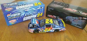 Jeff Gordon 2002 #24 Pepsi Daytona Chevy RCCA 1:24 NASCAR Diecast CW Bank