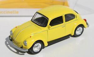 Norev 1:43 Volkswagen Beetle Saturn Yellow New FNQHotwheels NV2