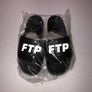 FTP FUCKTHEPOPULATION 3M Reflective Logo Slides Size 11 New RARE!!
