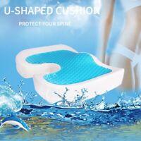 Gel Enhanced Seat Cushion – Non-Slip Orthopedic Gel & Memory Foam Coccyx Cushion