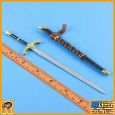 Crown Knight - Metal Sword & Sheath - 1/6 Scale - SGToys Action Figures