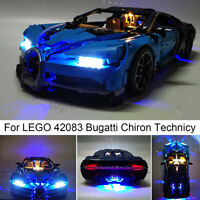 ONLY LED Light Lighting For LEGO 42083 Bugatti Chiron Technicy Bricks Toys  h
