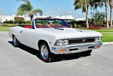 1966 Chevrolet Chevelle Convertible SS 427 Tribute Fully Restored