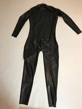 Latex Rubber Catsuit shoulder Zipper with COD piece