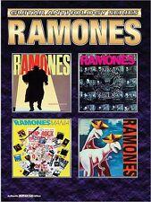 RAMONES - GUITAR TAB SHEET MUSIC ANTHOLOGY SONG BOOK