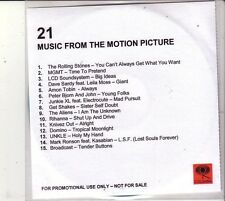 "ROLLING STONES + U.A.  ""21 Music from the Motion Picture"" 15 Track  PROMO RARE"