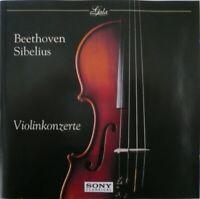 CD BEETHOVEN Violinkonzerte SIBELIUS Walter Ormandy Oistrach REMASTERED 2003 OOP