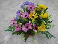 künstliche Blumen  pflanzen blumen dekoartik Grabgesteck Sommer Mix