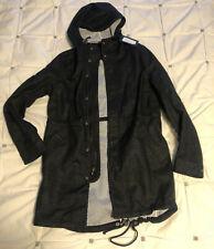 NWT $750 Wings + Horns Men's S Fishtail Vented Linen Parka Jacket coat military