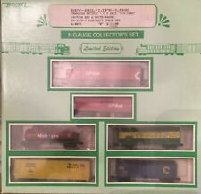 Bev-Bel/Life-Like N Scale Set with assorted cars L-4072 CP