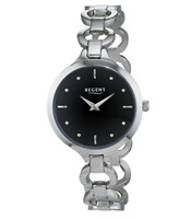 Regent Women's Ladies Silver Stainless Steel 32mm Bracelet Watch - 12221034