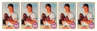 (5) 1993 Sports Cards #75 Greg Maddux Baseball Card Lot Atlanta Braves