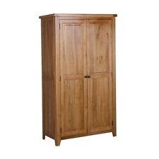Handmade Oak Wardrobes with 2 Doors