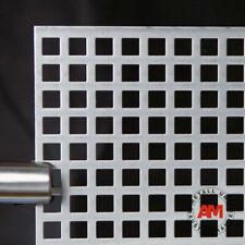 Lochblech Qg 10-15 Stahl VERZINKT Laubschutz Metallgitter Tafel Zuschnitt
