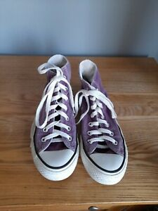 CONVERSE ALL STAR MAUVE BOOTS SIZE UK 5