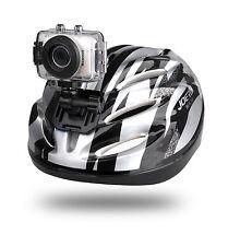 NIB Sound Around GDV123SL Gear Pro HD Sport Action Camera Camcorder Silver