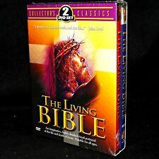 The Living Bible NUEVO Testament 2004 CAJA COLECCIONISTA Classics 2 DVD