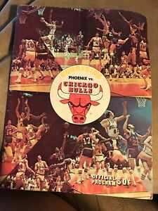 1970 - 1971 Chicago Bulls vs. Phoenix Suns Program NBA 3/13/71