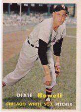 1957 Topps Baseball #221 Dixie Howell ~ Chicago White Sox ~ EX+