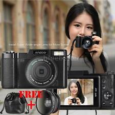 Andoer FULL HD 1080P 24MP Digital SLR Camera DV Video Camcorder with Lens K0D0