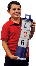 THE ORIGINAL BIG LCR® LEFT CENTER RIGHT™ DICE GAME - CLASSIC (BLUE)