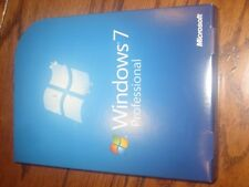 Microsoft Windows 7 Professional 32 and 64 Bit - DVD - FQC-00129 No product key